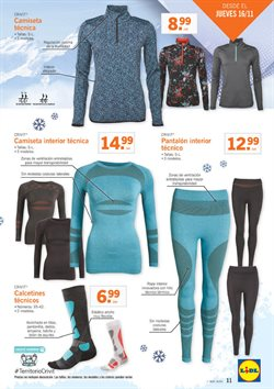 Ofertas de Pantalones mujer  en el folleto de Lidl en Valladolid