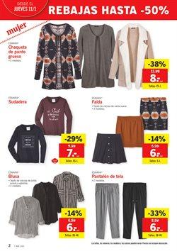 Ofertas de Ropa mujer  en el folleto de Lidl en Pamplona