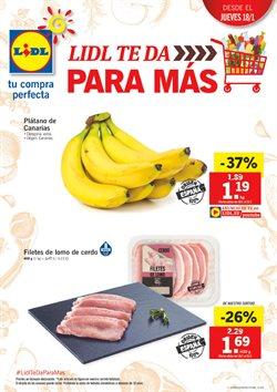 Ofertas de Plátanos de Canarias  en el folleto de Lidl en León