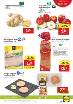 Ofertas de Hamburguesas  en el folleto de Lidl en La Orotava