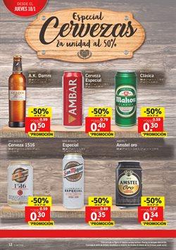 Ofertas de Cerveza  en el folleto de Lidl en La Orotava