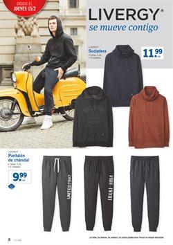 Ofertas de Pantalones hombre  en el folleto de Lidl en Madrid