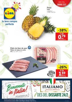 Ofertas de Carne y charcutería  en el folleto de Lidl en Palamos