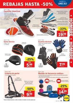 Ofertas de Zapatillas  en el folleto de Lidl en Valladolid