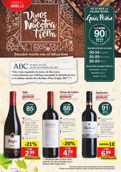 Ofertas de Vino  en el folleto de Lidl en León