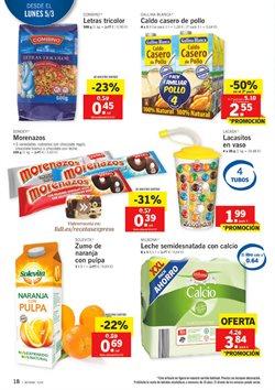 Ofertas de Naranjas  en el folleto de Lidl en León