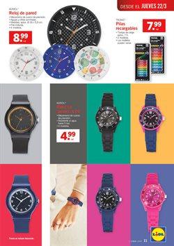 Ofertas de Reloj decorativo  en el folleto de Lidl en Madrid