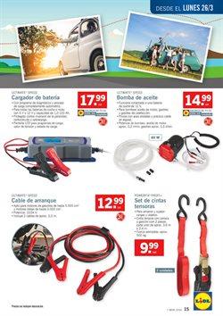 Ofertas de Batería de coche  en el folleto de Lidl en Madrid