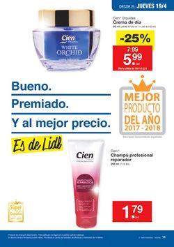 Ofertas de Champú  en el folleto de Lidl en Ávila
