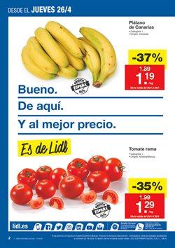 Ofertas de Fruta y verdura  en el folleto de Lidl en Zamora
