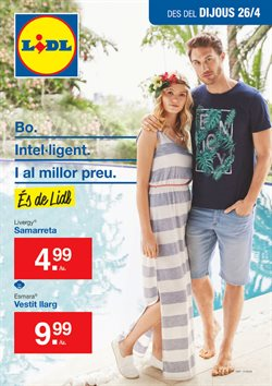 Ofertas de Vestidos  en el folleto de Lidl en Palamos