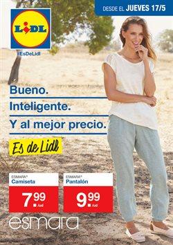 Ofertas de Pantalones mujer  en el folleto de Lidl en Castilleja de la Cuesta