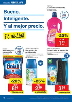 Ofertas de Finish  en el folleto de Lidl en Madrid
