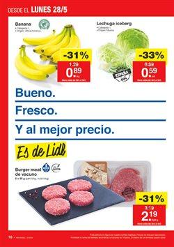 Ofertas de Hamburguesas  en el folleto de Lidl en Madrid