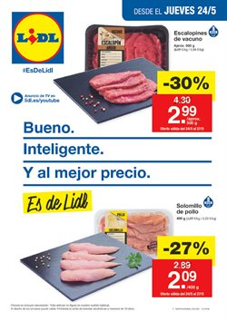Ofertas de Lidl  en el folleto de Madrid