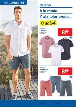 Ofertas de Pantalones cortos  en el folleto de Lidl en Getafe