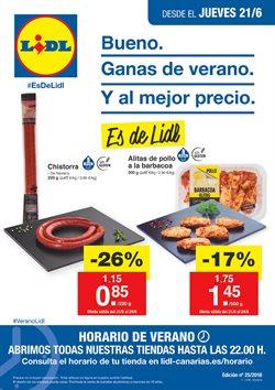Ofertas de Hiper-Supermercados  en el folleto de Lidl en Arrecife