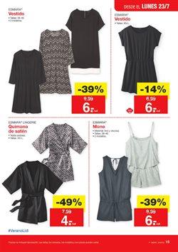 Ofertas de Vestidos  en el folleto de Lidl en Madrid