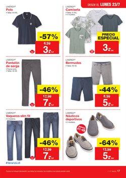 Ofertas de Camiseta hombre  en el folleto de Lidl en Pamplona