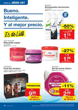 Ofertas de Desodorante  en el folleto de Lidl en Vigo