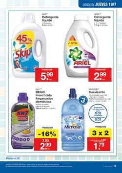 Ofertas de Detergente líquido  en el folleto de Lidl en Vecindario