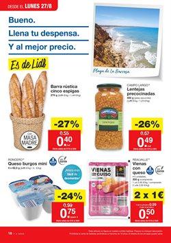 Ofertas de Lentejas  en el folleto de Lidl en Sevilla