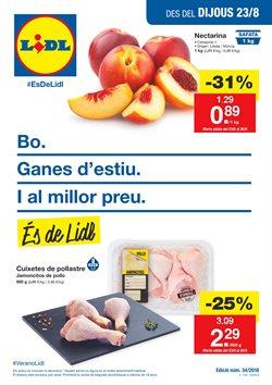 Ofertas de Hiper-Supermercados  en el folleto de Lidl en Palamos