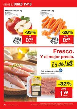 Ofertas de Zanahorias  en el folleto de Lidl en Madrid
