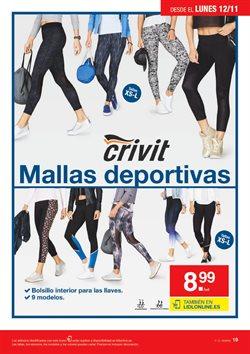 Ofertas de Leggins deportivos  en el folleto de Lidl en Madrid