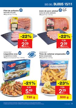 Ofertas de Lomo de cerdo  en el folleto de Lidl en Palamos