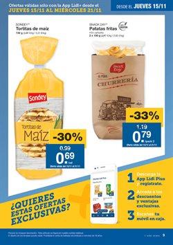 Ofertas de Patatas fritas  en el folleto de Lidl en Córdoba