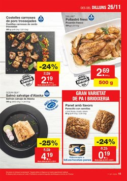 Ofertas de Carne de cerdo  en el folleto de Lidl en Palamos