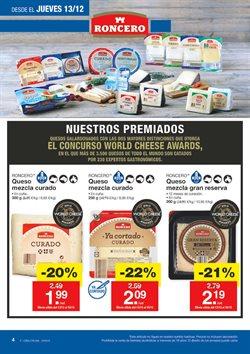 Ofertas de Queso  en el folleto de Lidl en Antequera