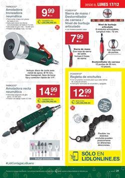 Ofertas de Amoladora  en el folleto de Lidl en Córdoba