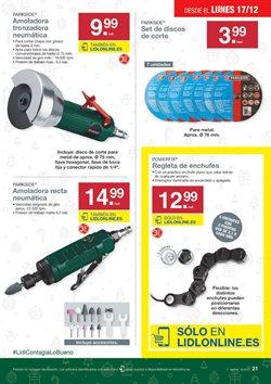 Ofertas de Amoladora  en el folleto de Lidl en A Coruña