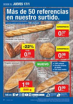 Ofertas de Pan  en el folleto de Lidl en Málaga