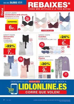 67e66d2506 Ofertas de Ropa interior femenina en el folleto de Lidl en Palamos