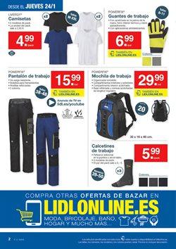 Ofertas de Ropa  en el folleto de Lidl en Madrid