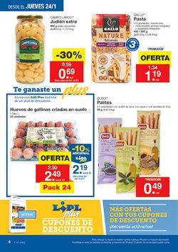 Ofertas de Aceite de oliva  en el folleto de Lidl en Pamplona