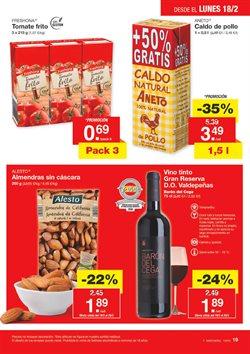 Ofertas de Sopa de pollo  en el folleto de Lidl en Madrid