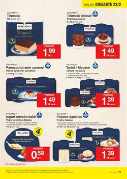 Ofertas de Tartas  en el folleto de Lidl en Barcelona