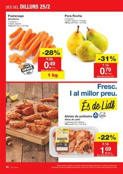 Ofertas de Salchichas de pollo  en el folleto de Lidl en Figueres