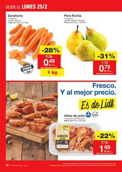 Ofertas de Peras  en el folleto de Lidl en Madrid