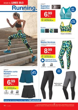 Ofertas de Pantalones  en el folleto de Lidl en Madrid