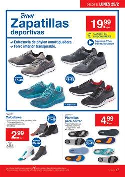 Ofertas de Deportivas  en el folleto de Lidl en Madrid