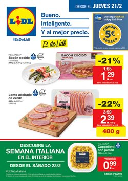 Ofertas de Lidl  en el folleto de A Coruña