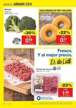 Ofertas de Picado, salsicha y hamburguesa  en el folleto de Lidl en El Ejido