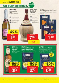 Ofertas de Vino tinto  en el folleto de Lidl en Murcia