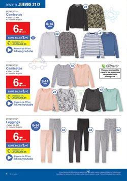 Ofertas de Pantalones mujer  en el folleto de Lidl en Cartagena