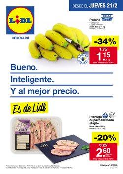 Ofertas de Lidl  en el folleto de San Cristobal de la Laguna (Tenerife)